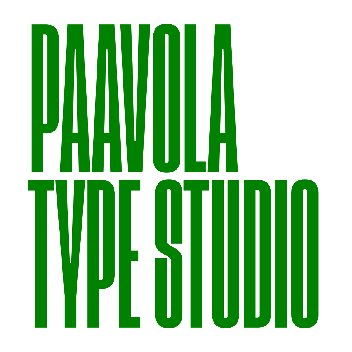 Paavola Type Studio