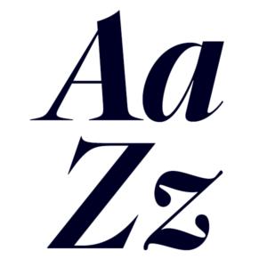 Segnieur Serif Display Bold Italic