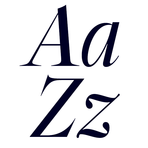 Segnieur Serif Display Light Italic