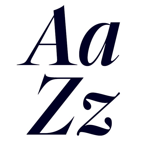 Segnieur Serif Display Medium Italic