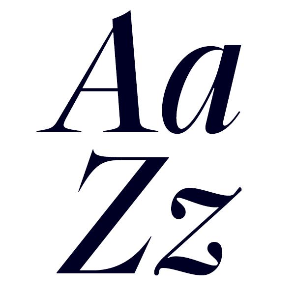Segnieur Serif Display Regular Italic